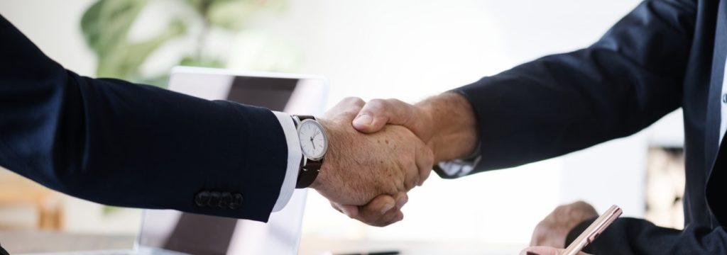 Eric Dalius handshake