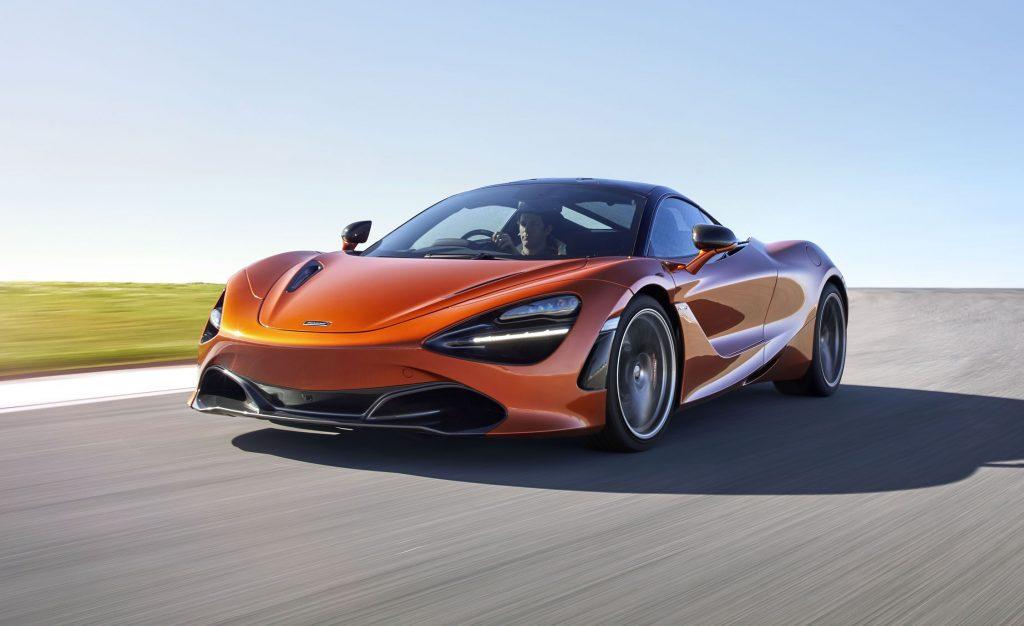 Eric Dalius McLaren 720S